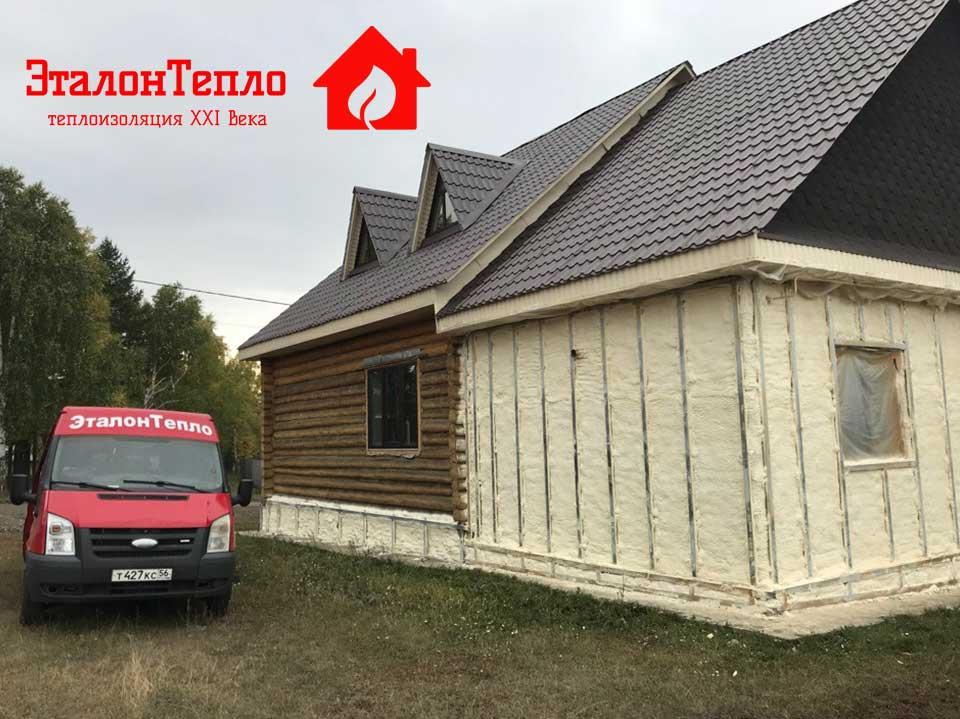 Утепление дома в село Мраково